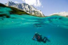cím nélkül (Alpesi tó)